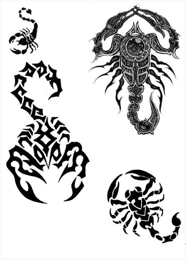 Скорпиона 3 татуировка скорпиона эс