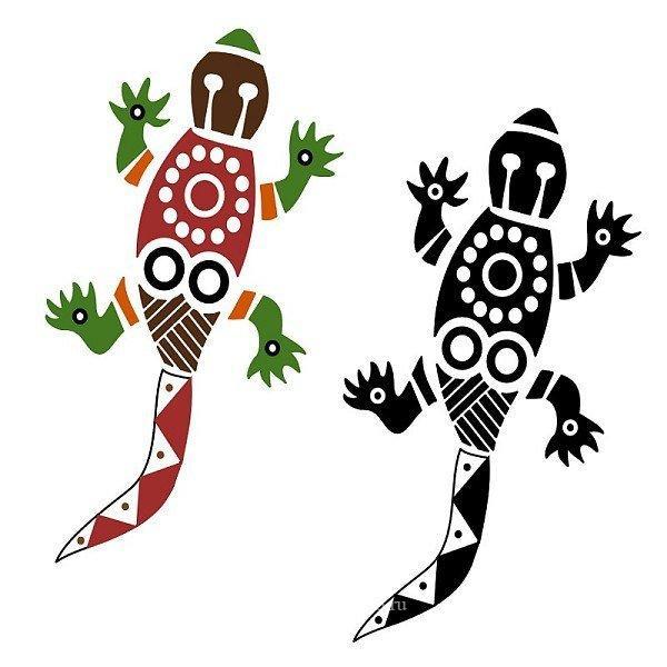 Полинезия ящерицы