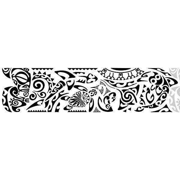 Татуировки на плече полинезийские