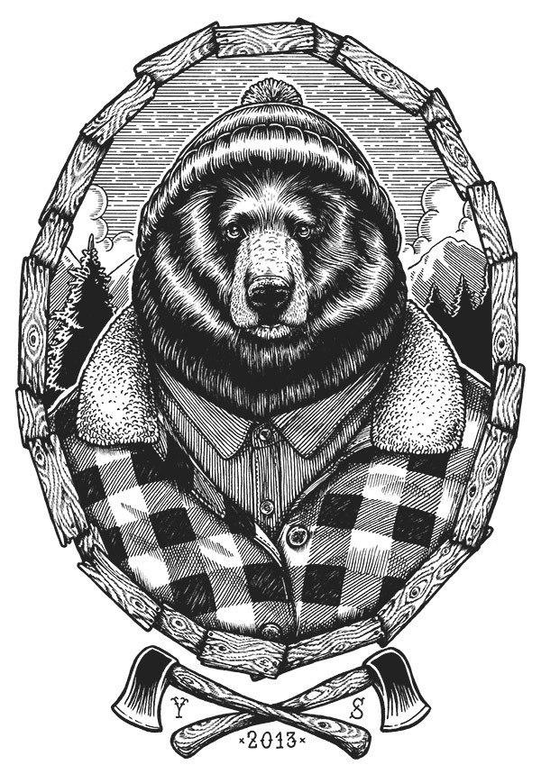 тату медведь в шапке адрес официального сайта