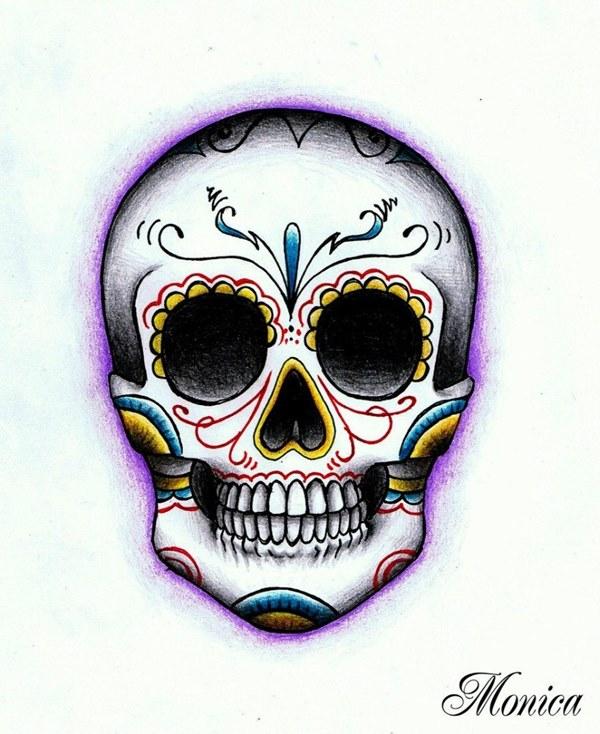 """Череп - Тату эскизы Галерея идей для татуировок Фото эскизов черепов - Страница 4 / Тату салон """"Дом Элит Тату"""""""