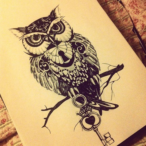 Owl Tattoos Forearm  CreativeFan