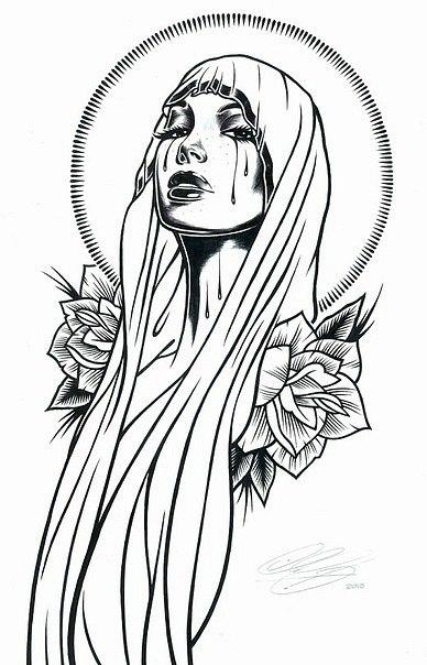 Эскизы голых монахинь