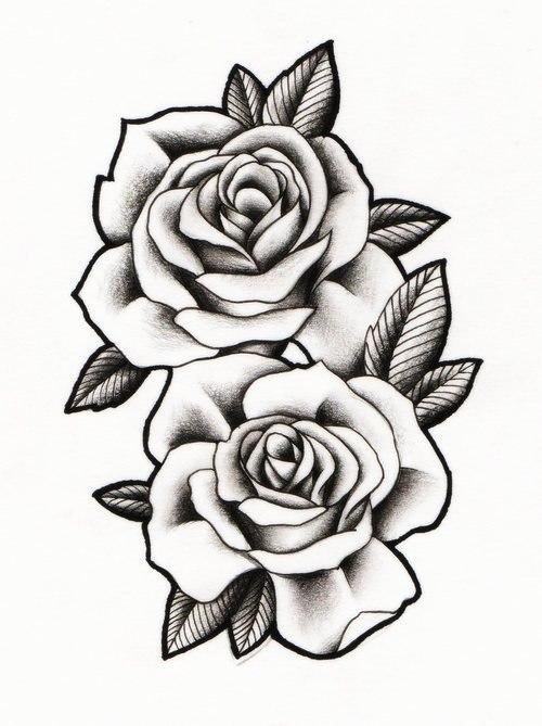 Тату цветы на руке для девушек эскизы