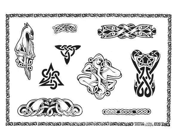 b Эскизы татуировок /b- Кельтские узоры 8.