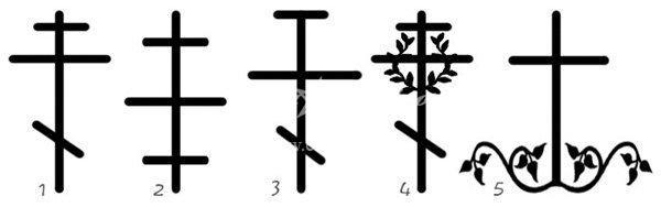 Татуировки кресты
