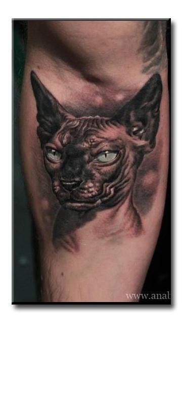 Татуировка злых котов