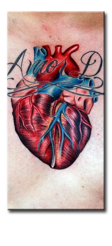 Что означает сердце в татуировках