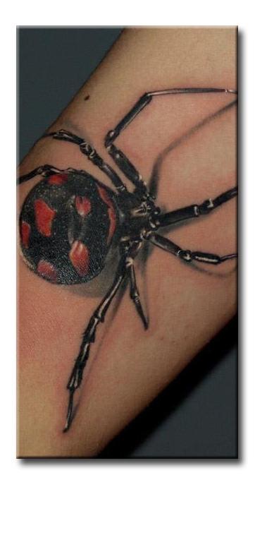Паук на руке тату значение на зоне