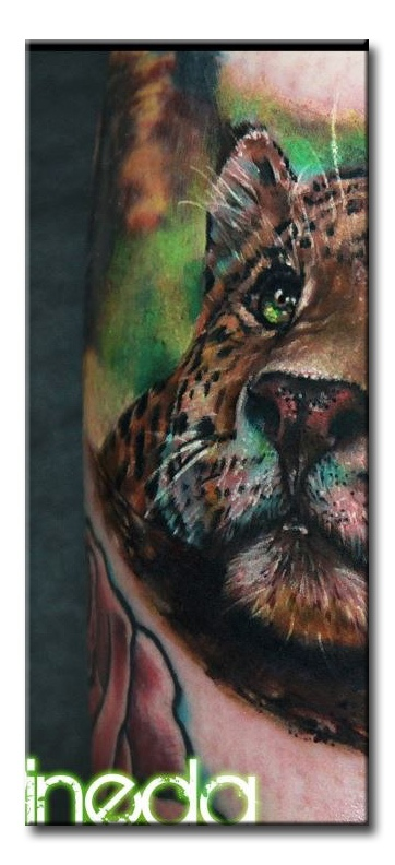 Татуировка леопарда значение
