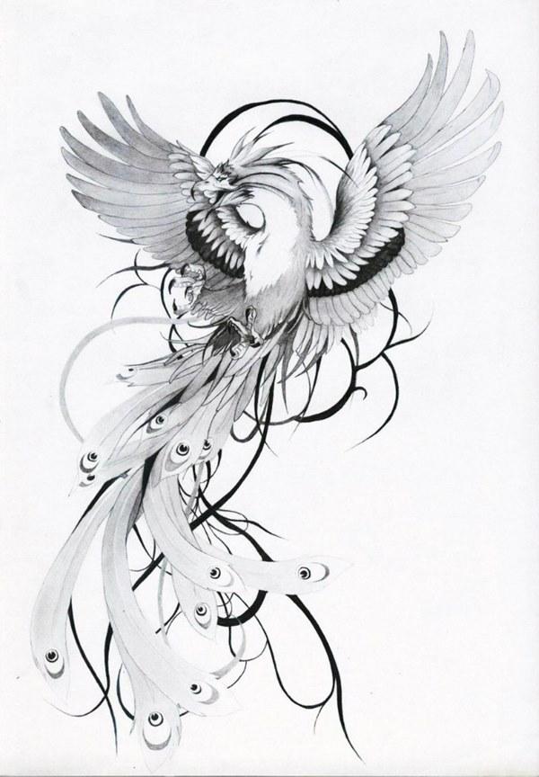 эскизы татуировок птицы фото керченского