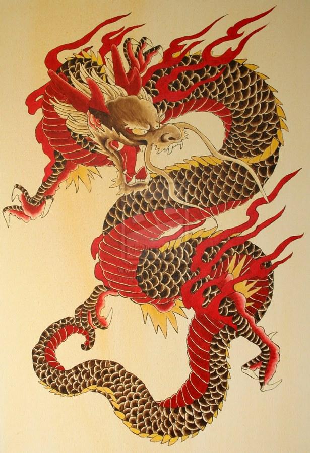 Картинки в стиле китайских татуировок