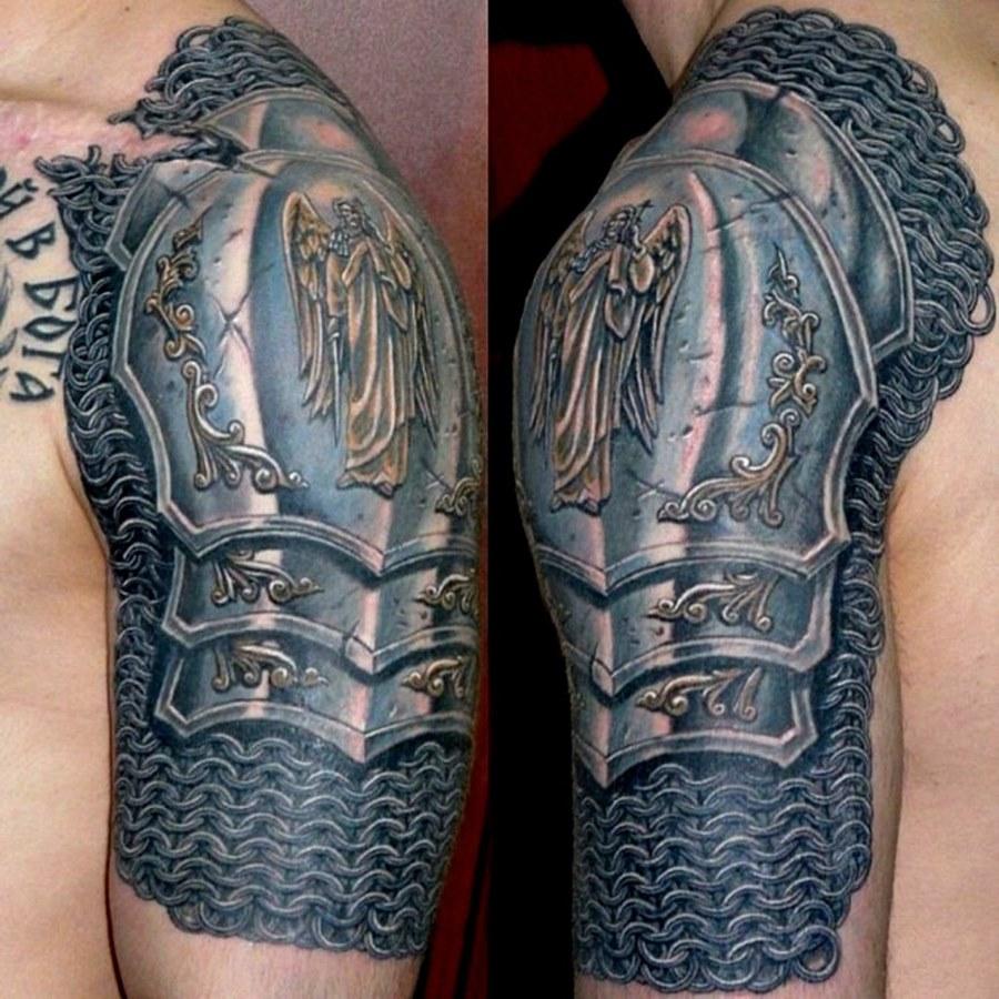 Картинки кольчуга татуировки