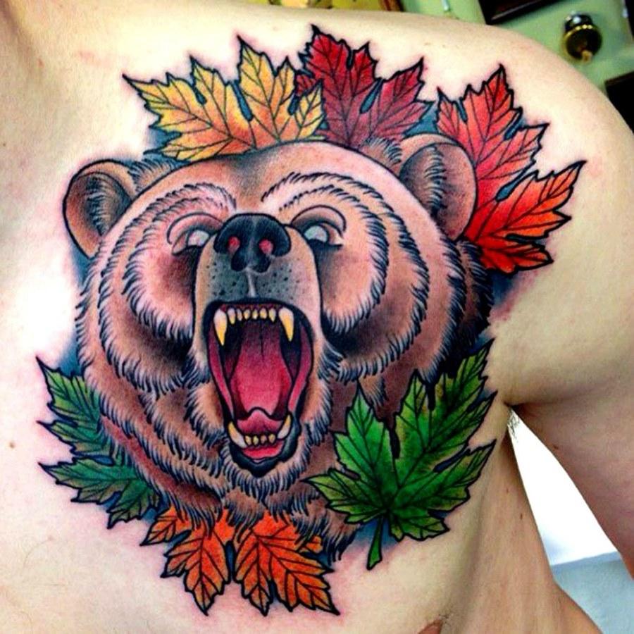 разница цветные тату медведей фото знаю, будешь прекрасным