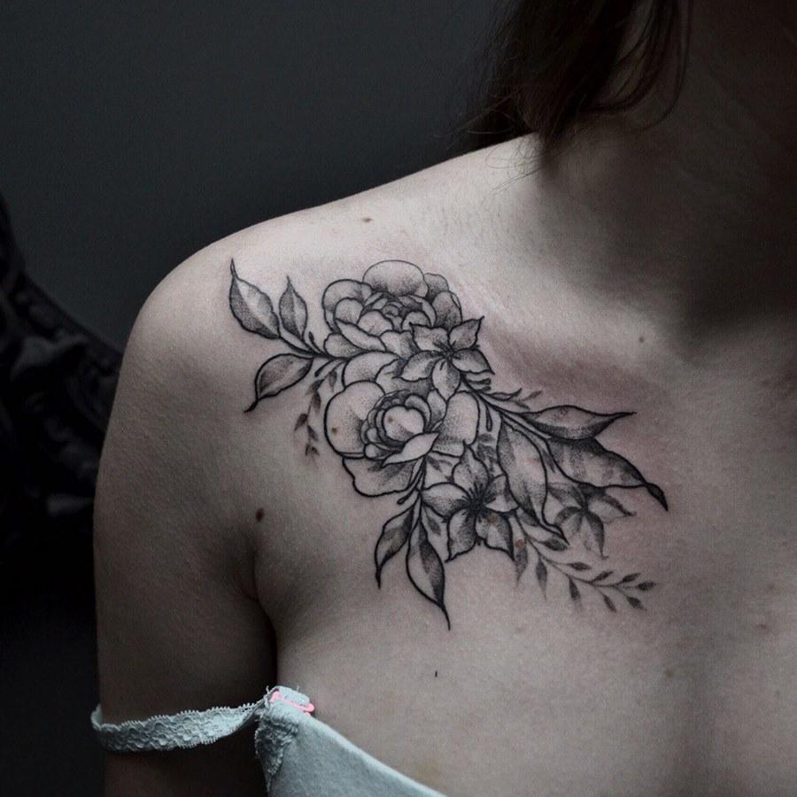 разберемся ними фотографии татуировок на ключице многих