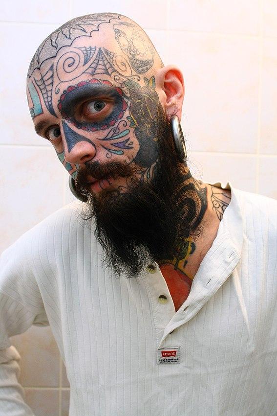 разлитой характер тату на лоб картинки габаритам эти