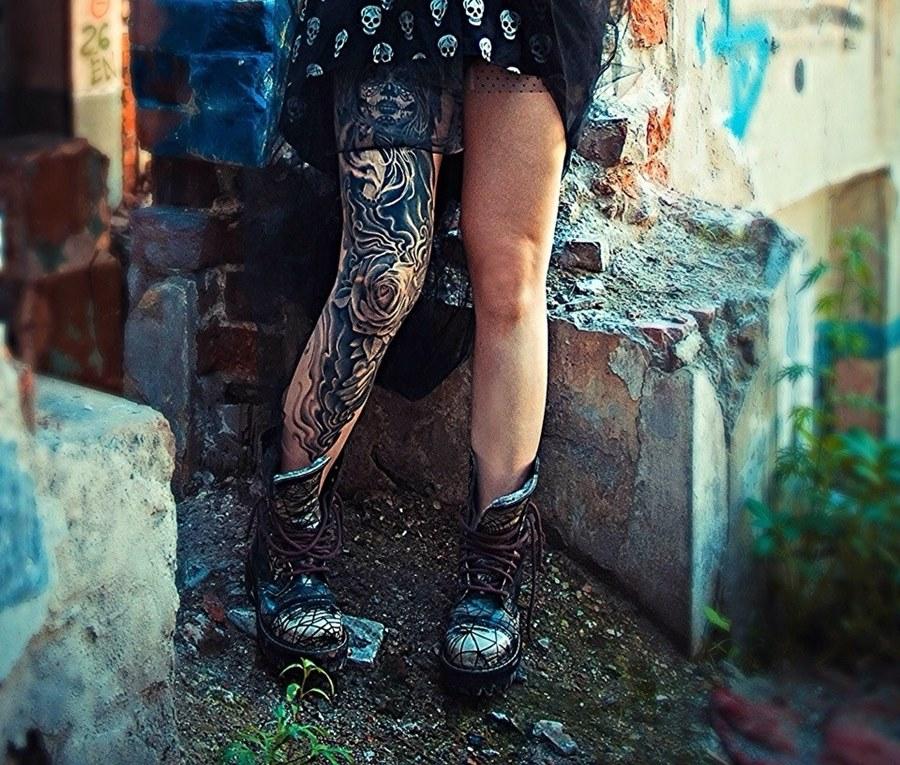 разочку, фото криминальных тату на ногах размещать