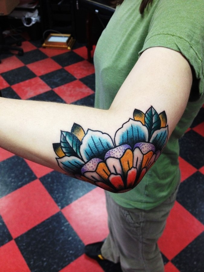 Картинки татуировок на локтях