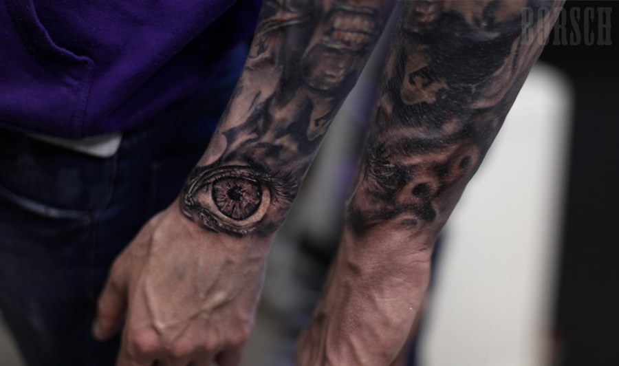 Фото картинок тату на руке на верхней части