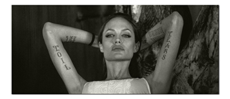 Джоли, Анджелина - татуировки