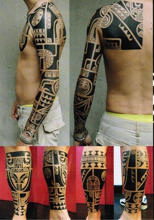 было тату рукавов в стиле этника фото работает усн объектом
